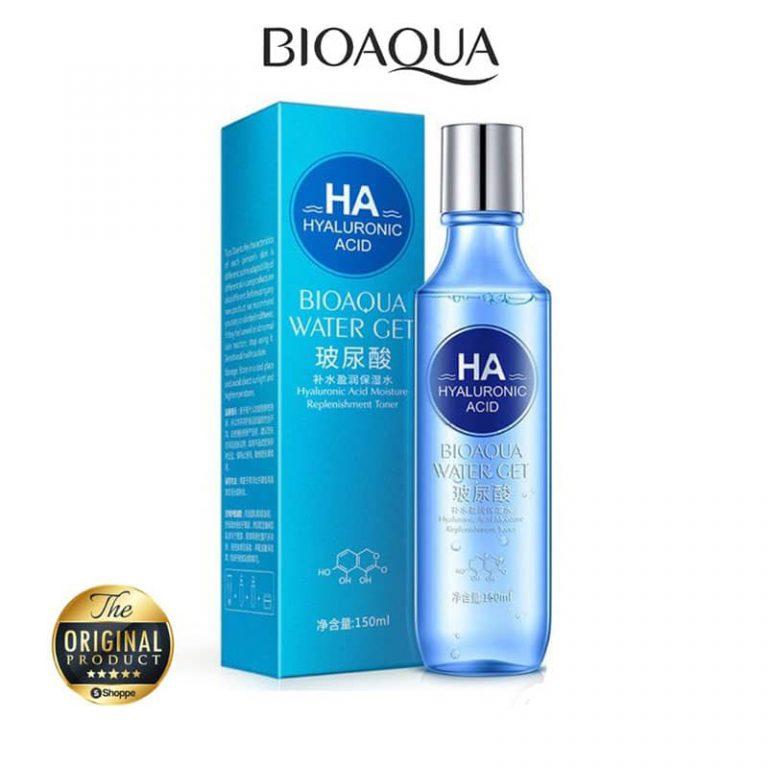 تونر پاک کننده صورت هیالورونیک اسید BIOAQUA