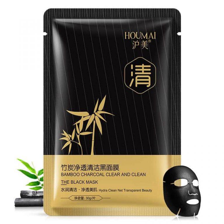 ماسک ورقهای هیدارته زغال بامبو HOUMAI